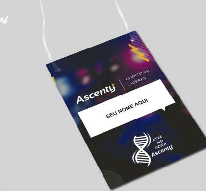 InoveGraf produz crachá de identificação para a Ascenty