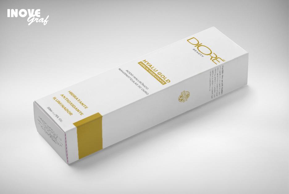 Embalagens produzidas pela InoveGraf Campinas para a Diore