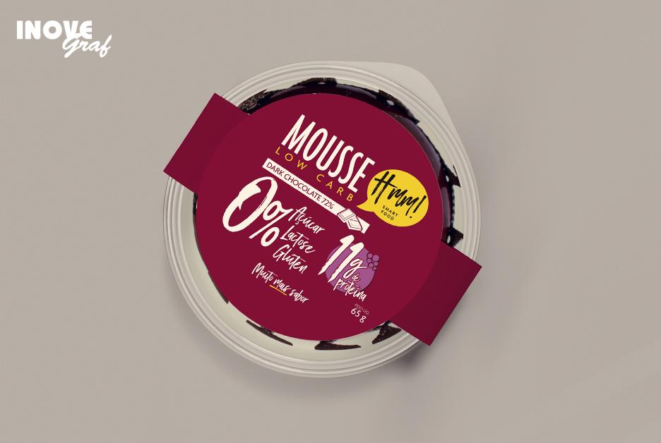 Cinta para embalagem produzida pela InoveGraf para a HMM Smart Food