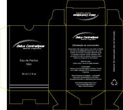 Cartuchos para embalagem de frascos, produzidos para a Delux Contratipos